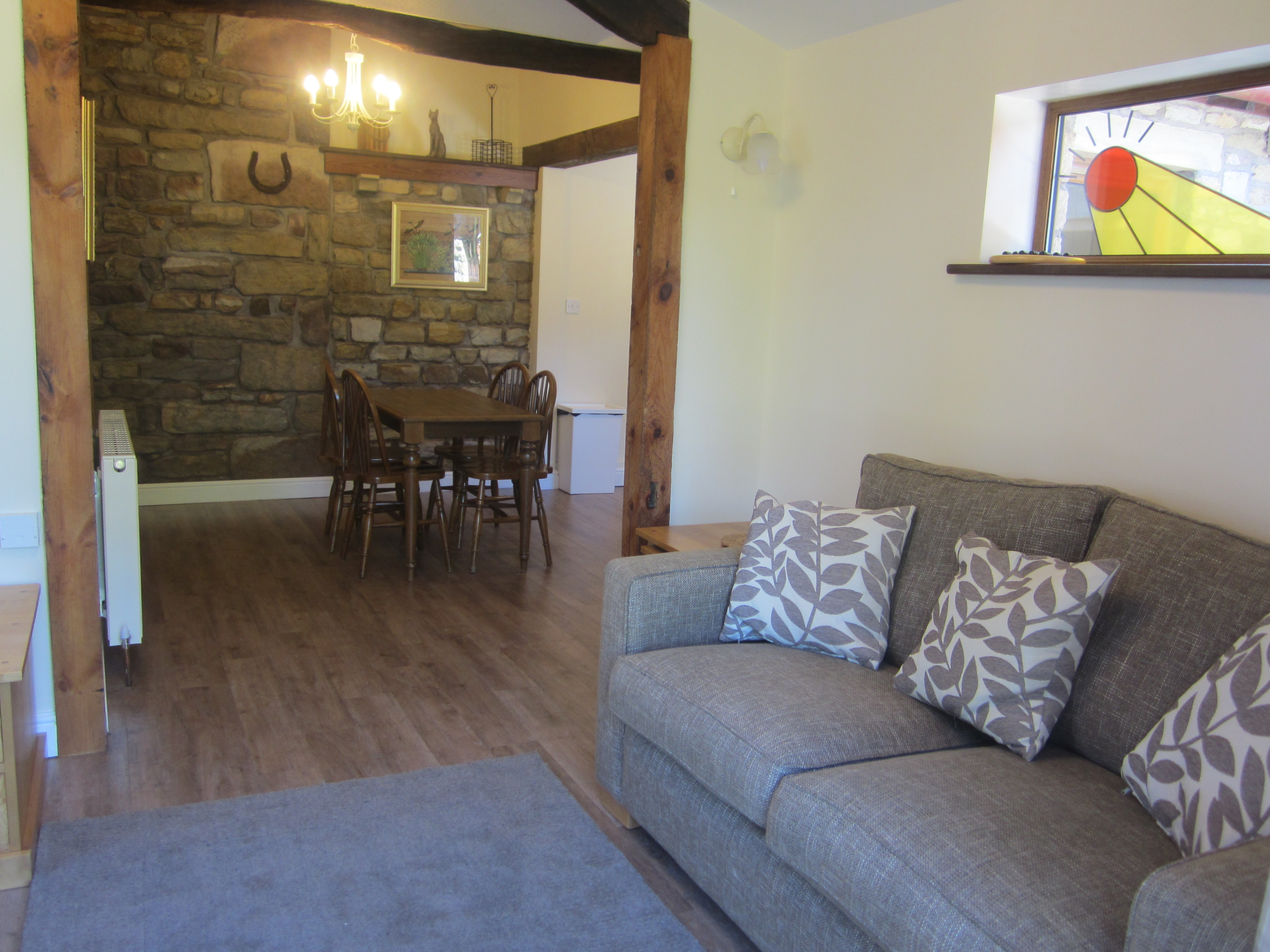 Ivy Cottage caters for up to four people